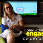 Como atender o engasgo e um bebê?
