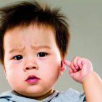 Dor de ouvido na criança, recomendações para pais e professores