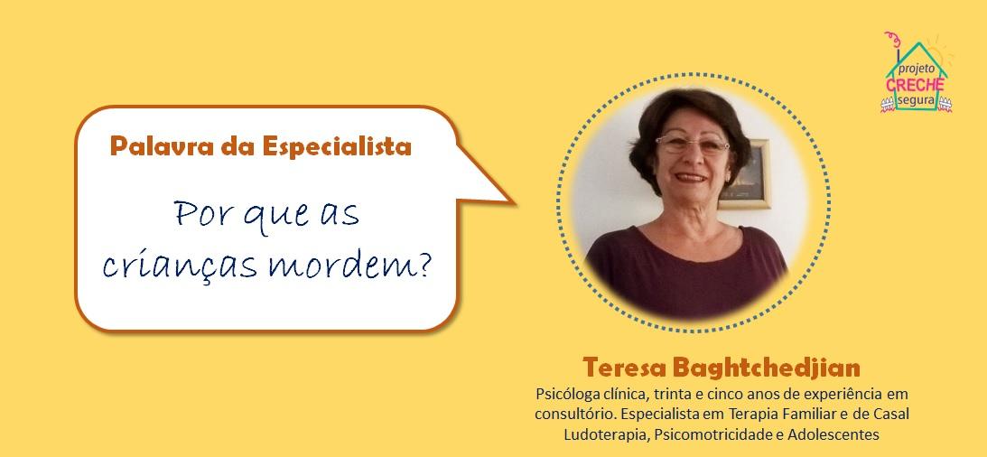 PALAVRA ESPECIALISTA - TERESA